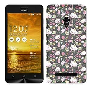 TrilMilPrinted Designer Mobile Case Back Cover For Asus Zenfone 5