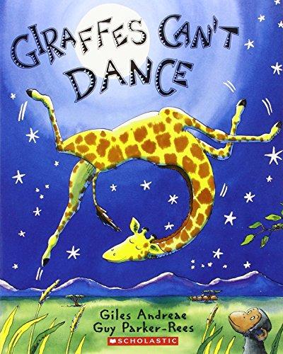 Giraffes Can't Dance por Giles Andreae