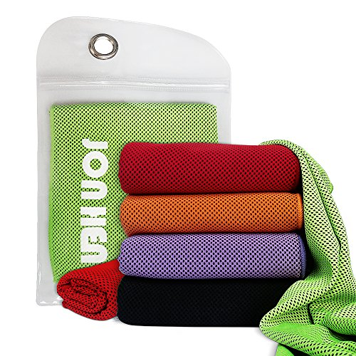 Jonhen-Cooling-Towel-Ice-Cold100-x-30-cmQuick-Dry-Fitness-Towel-for-Instant-ReliefUse-as-Cooling-Neck-Headband-Bandana-Scarf-Stay-Cool-for-PilatesTravelCampingGolfHiking-Outdoor-Sports