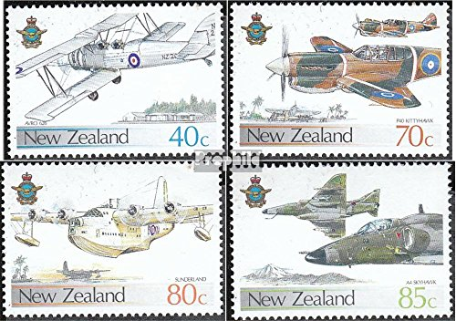 new-zealand-992-995-completeissue-1987-aircraft-stamps-for-collectors