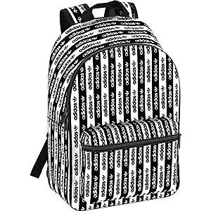 adidas RYV BP MULTI FL9669 mochila blanca y negra logo unisex
