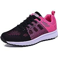 MINBEI Baskets Femmes Chaussures de Running Respirantes pour Femme Athlétiques Légères Chaussures de Sport pour Femme…