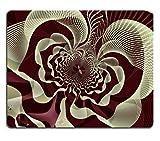 Liili Mauspad Naturkautschuk Mousepad Bild-ID: 28142584Abstrakt Fractal 3D Blume Bild