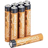 Amazon Basics AAAA 1.5 Volt Everyday Alkaline Batteries - Pack of 8 (Appearance may vary)