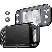 Lammcou Custodia protettiva per Nintendo Switch Lite Case e proteggi schermo in vetro temperato 9H e cappucci per…