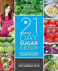 The 21-Day Sugar Detox: Bust Sugar & Carb Cravings Naturally (English Edition)