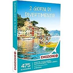 Idea Regalo - Emozione3 - Cofanetto Regalo - 2 GIORNI DI DIVERTIMENTO! - 475 soggiorni con 1 notte, colazione e attività di svago in agriturismi e hotel