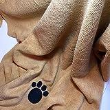 Super-saugfähiges, 140x70cm professionelles Haustier/Hundehandtuch aus Mikrofaser - 2