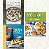 Vegan Recipes from the Middle East,Vegan Street Food,Vegan Cookbook For Beginners[Paperback] 3 Books Collection Set - Foodie travels from India to Indonesia