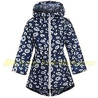 Girls lightweight waterproof rain jacket