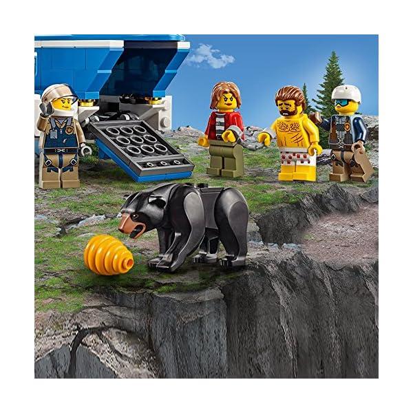 LEGO- City PoliceArresto in Montagna, Multicolore, 60173 4 spesavip
