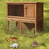 Kaninchenstall, FDS, doppelstöckig, Hasenkäfig, Kleintierstall - 2