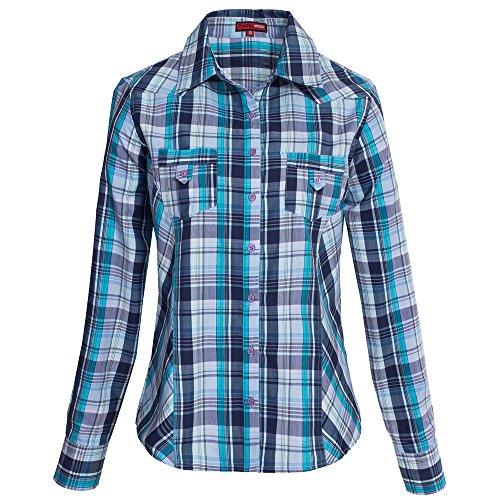 Karo-Bluse im Holzfäller Design (Cowgirl Karo)