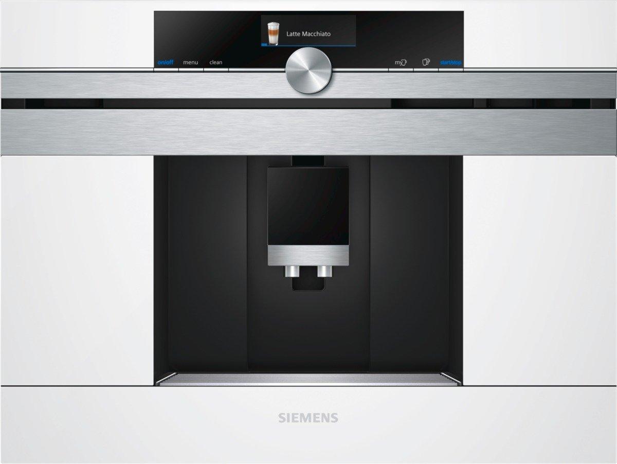 Siemens CT636LEW1 iQ700 Einbau-Espressomaschine, sensoFlow, Intelligent Heater Inside, OneTouch