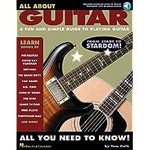 All About Guitar (Book & CD): Noten, CD, Lehrmaterial für Gitarre