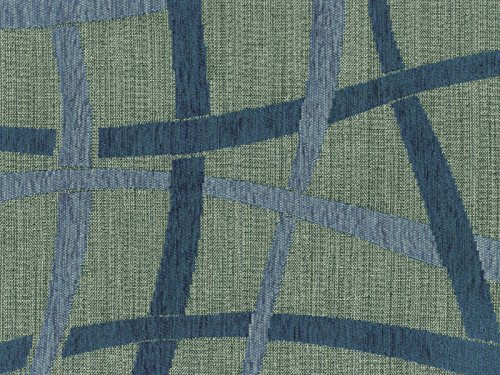 Möbelstoff Taranto Farbe 15 (grau, blau) - modernes Chenille-Flachgewebe (gemustert, modern), Polsterstoff, Stoff, Bezugsstoff, Eckbank, Couch, Sessel, Hussen, Kissen -