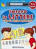 Imparo le lettere con il libro lavagna. 4-6 anni. Ediz. illustrata
