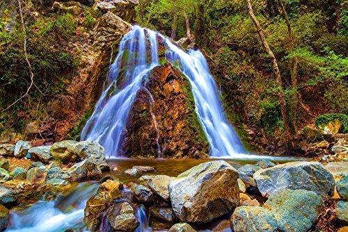 120501-132-chantara-waterfalls-a4-matted-fine-art-photograph-nature-landscape-best-for-home-and-offi