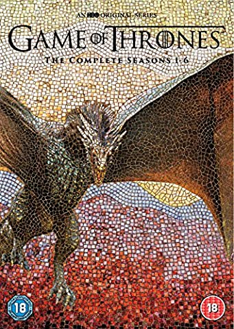 Game Of Thrones: The Complete Seasons 1-6 (30 Dvd) [Edizione: Regno Unito] [Import anglais] (Game Of Thrones Dvd 1-6)