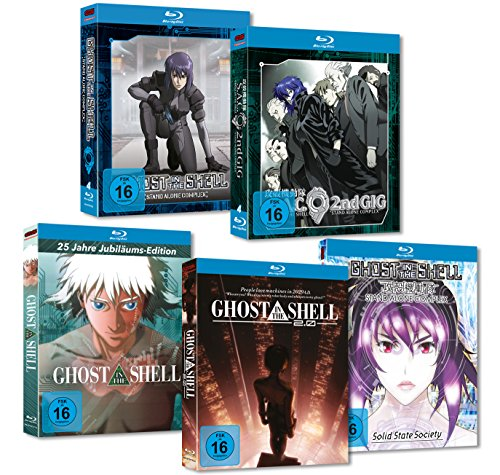 Innen-shell (Ghost in the Shell - Stand Alone Complex + Movies (Movie, 2.0, Solid State Society) MEGA Bundle Blu Ray)