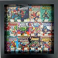 FRAMEPUNK Marvel Comic Cover Minifigure Display Frame (Black).