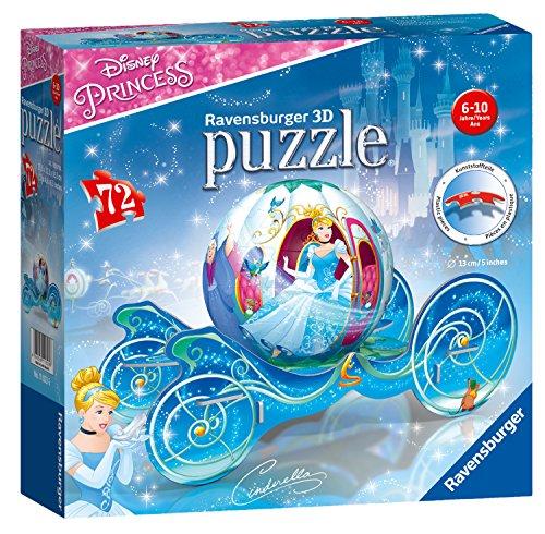 Ravensburger- Puzzle Ball 3D Carriage, Cenicienta (11823)
