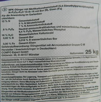 Compo Blaukorn NOVA TEC classic 12+8+16 (+3+10) 25kg von Compo - Du und dein Garten