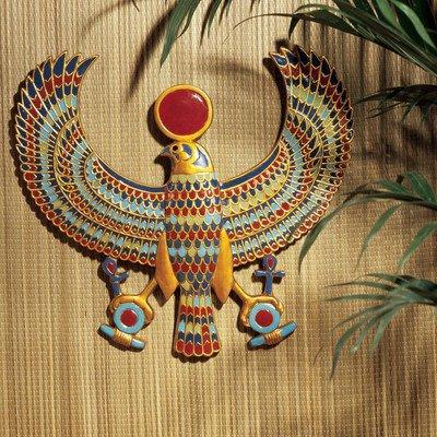 Parete design Toscano AH22206 Horus egizio placca Decoration