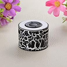 CRAZYON Mini-Lautsprecher mit Jack Portable Stereo Outdoor wiederaufladbaren Musik Player