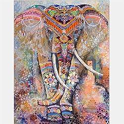Naranja Bohemia elefante pared tapices que cuelgan tapices toalla de playa