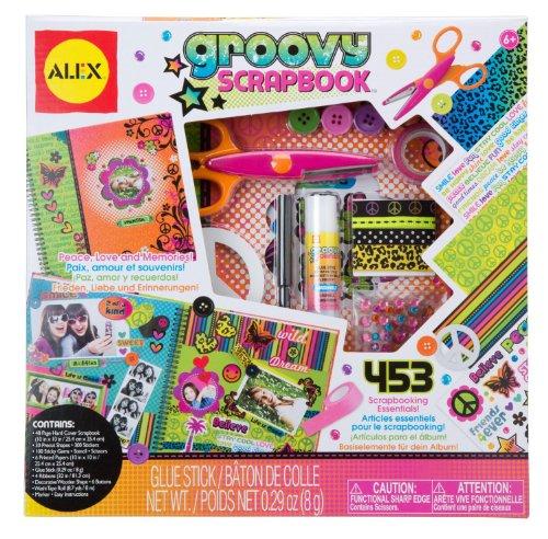 Groovy Scrapbook Kit Test