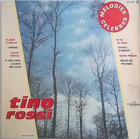 Pierre Spiers - Tino Rossi - Mélodies célèbres - vinyle