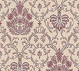 Papier Tapete A.S. Création Belle Epoque Beige Metallic Rot 339041 Maße: 10,05 x 0,53 m