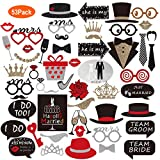 OleOletOy Foto Requisiten für Hochzeit als Photo Booth Props - Verwandeln Sie gewöhnliche Fotos in wunderschöne Erinnerungen mit Unseren Lustigen photobooth Accessoires!