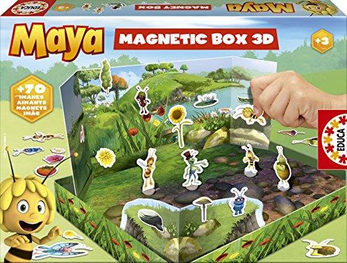 Educa Borrás - Magnetic Box Maya, playset (15098)