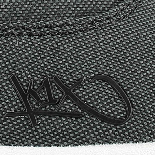 K1X  K1X cali le, Sneakers Basses homme Noir - Black Tweed