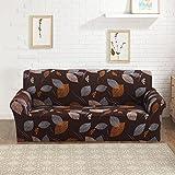 ele ELEOPTION Sofaüberwurf Sofabezug Stretch Abziehbild Sofabezug Muster Sofa Slipcover elastische Sofahusse (2 Sitzer für Sofalänge 140-185cm, Stil 5)