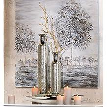 Suchergebnis Auf Amazon De Fur Silber Gehammert Vase