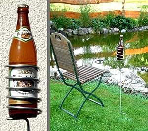 Bierflaschenhalter, 3 Stück bellissa