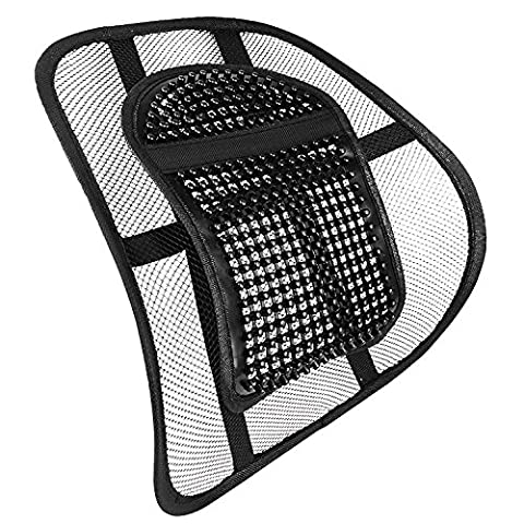 Sentik® Chair Back Support Seat Sit Tight Right with Elasticated Positioning Strap and Mesh Lumbar