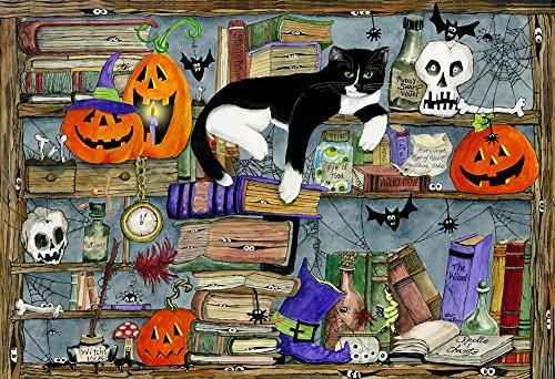 Vermont Christmas Halloween Katze Puzzle für Kinder 100 Teile