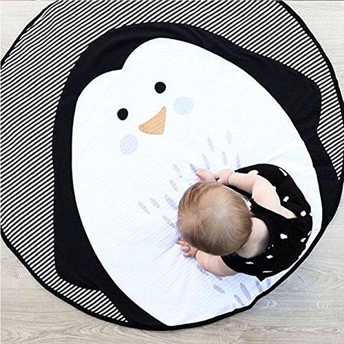 Goodtimes28Cartoon Tier Pinguin Baby Kleinkind Play Krabbeldecke Teppich Infant Aktivität Teppich Multi -