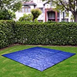 Swimming Paddling Pool Ground Cloth Sheet 270cm X 270cm (8.8ft X 8.8ft) Pvc Ground Cover Protector