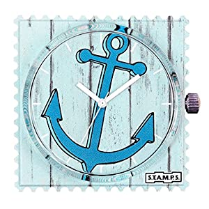 S.T.A.M.P.S. Stamps Uhr, Zifferblatt Frogman, wasserdicht Anchor 104332