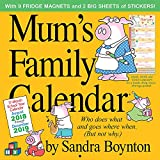 Mums Family Wall Calendar 2019