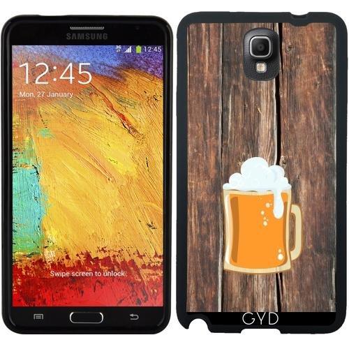 SilikonHülle für Samsung Galaxy Note 3 (SM-N9005) - Bier by hera56 (Note Bier Fall Galaxy 3 Samsung)