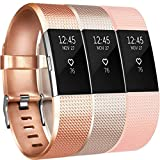 Yandu Fitbit Charge 2 Bracelet Sangle Réglables Accessorie Replacement Band pour...