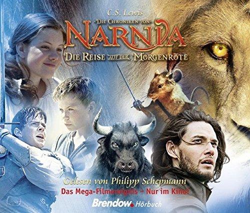 Die Chroniken von Narnia - Die Reise auf der Morgenröte. Hörbuch 5 CDs. Gelesen von Philipp Schepmann (Hörspiel Narnia)
