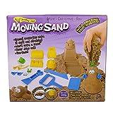 Beby Kinetische Sand 500g mit Sand Schlossturm Modelle Deluxe Spielset Spielzeug (Farben und Stile können variieren)