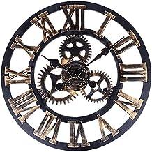 Horloge industriel for Horloge murale style industriel